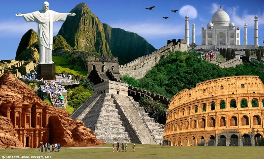 7 modern wonders of the world for Fondos de pantalla 7 maravillas del mundo