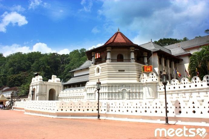 Kandy - Temple de la dent