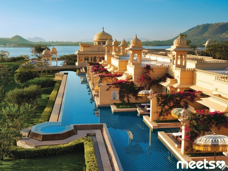 Welcome to the most luxurious hotel in India