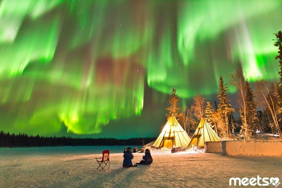 Северная сказка: где полюбоваться Северным сиянием?