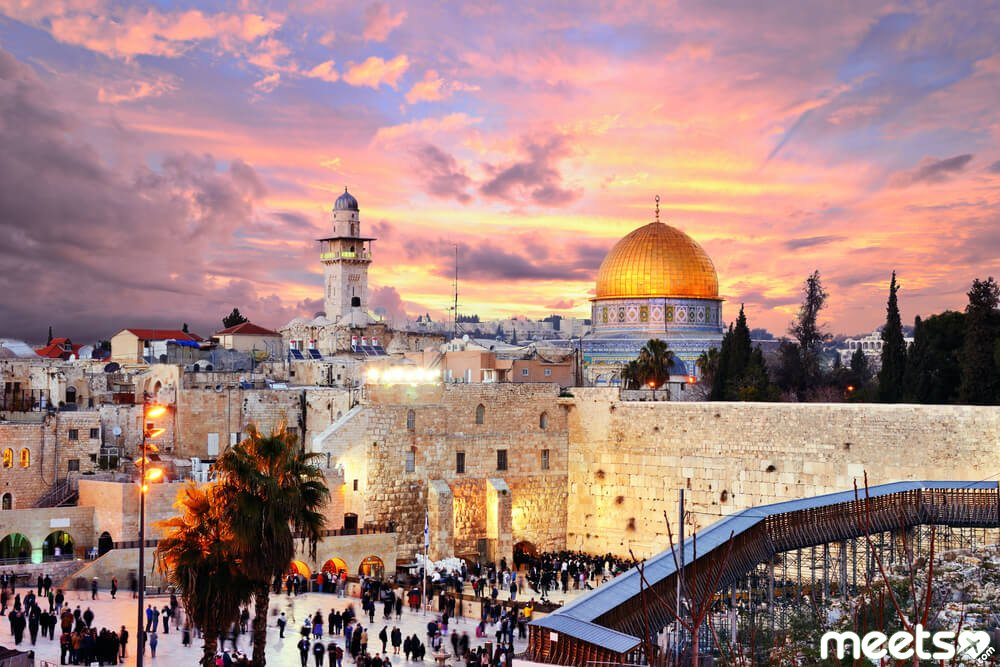 holy land of Jerusalem