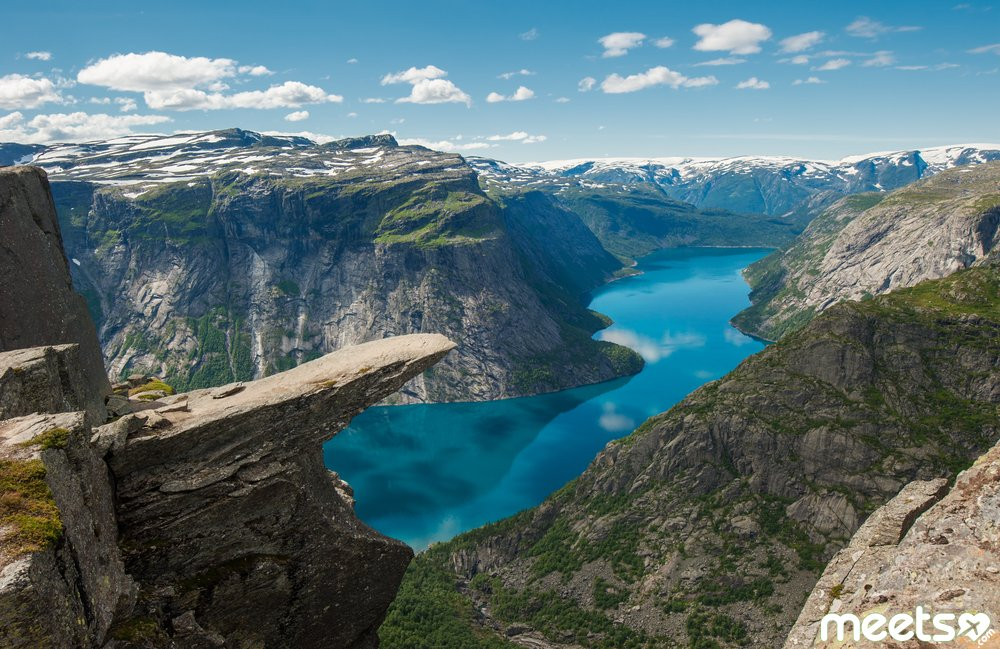 Trolltunga, Troll's tongue rock