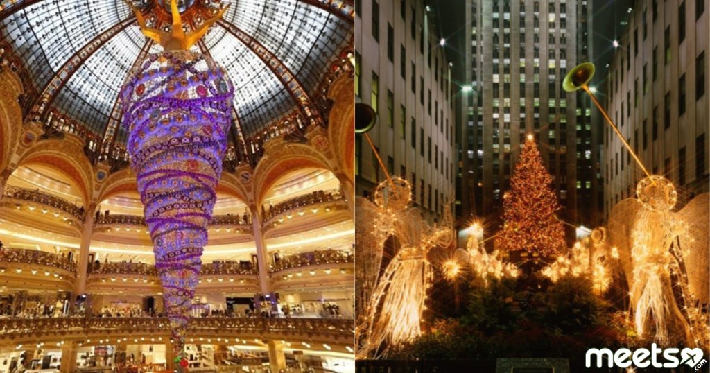The spirit of Christmas: the most beautiful New Year trees around the world