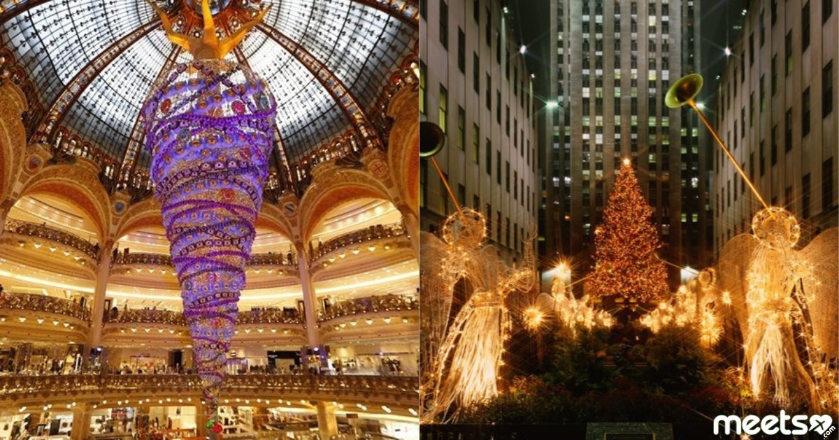 The Spirit Of Christmas The Most Beautiful New Year Trees Around