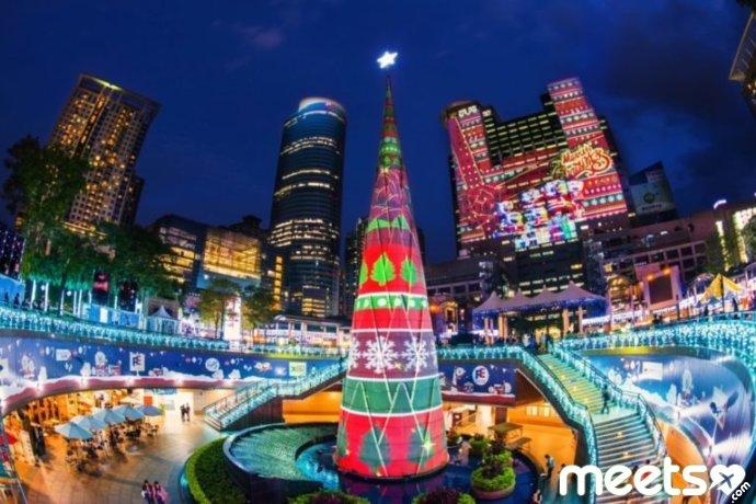 taipei christmas tree