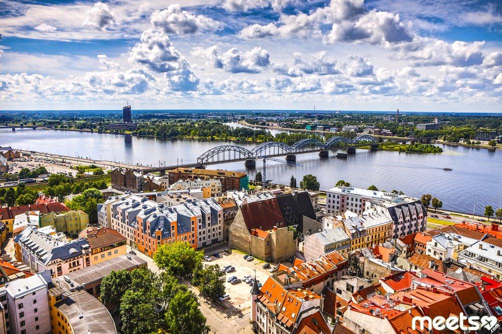 Old European city Riga