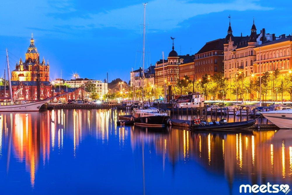 Old Town in Helsinki