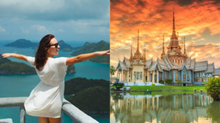 Asian trip: guided tour around Thailand