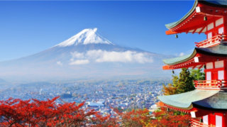 Asian trip: guided tour around Japan