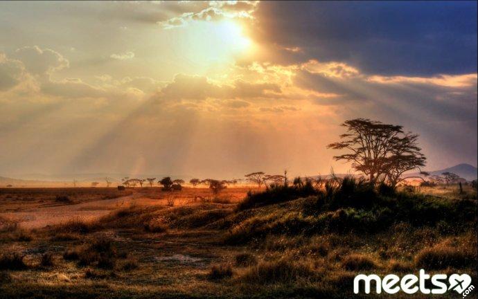 Кения осенью