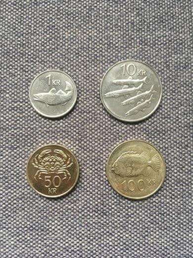исландские монеты