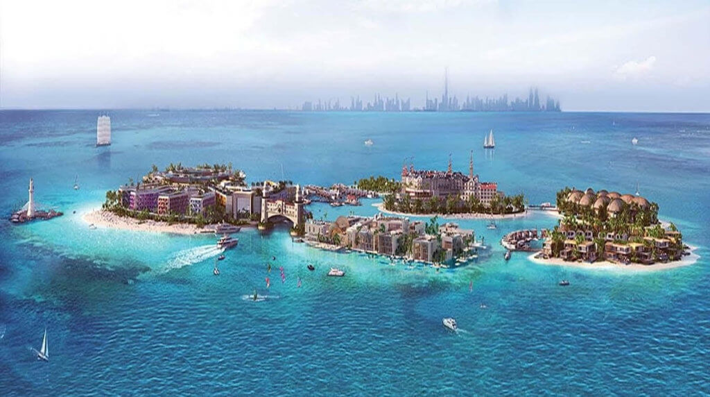 Европа в миниатюре: как в Дубай отстраивают целый континент за 5 миллиардов долларов
