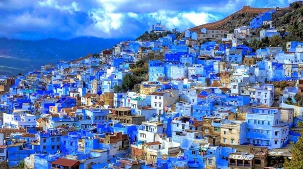 Шефшауэн — голубая жемчужина Марокко