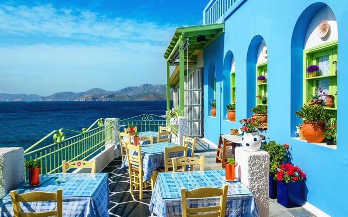 кафе в греции