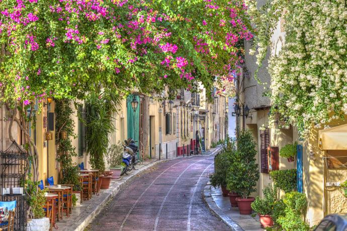 улицы в греции