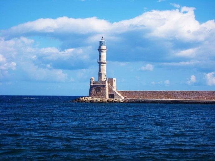 маяк в греции