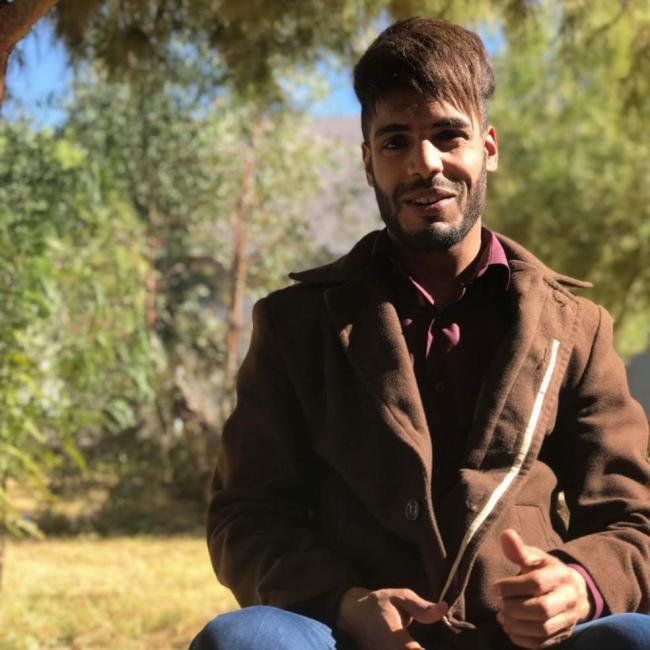 Abdelmalek Boubakeur, 22, Béchar, Algeria