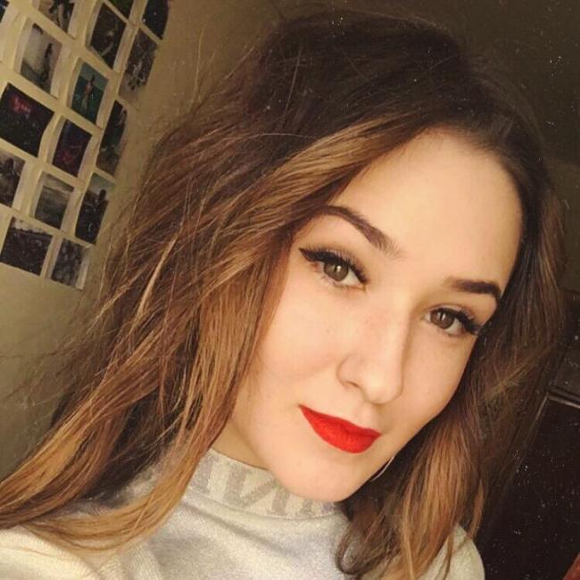 Anjela Gavrysh, 20y.o., from Kalush, Ivano-Frankivsk, Ukraine