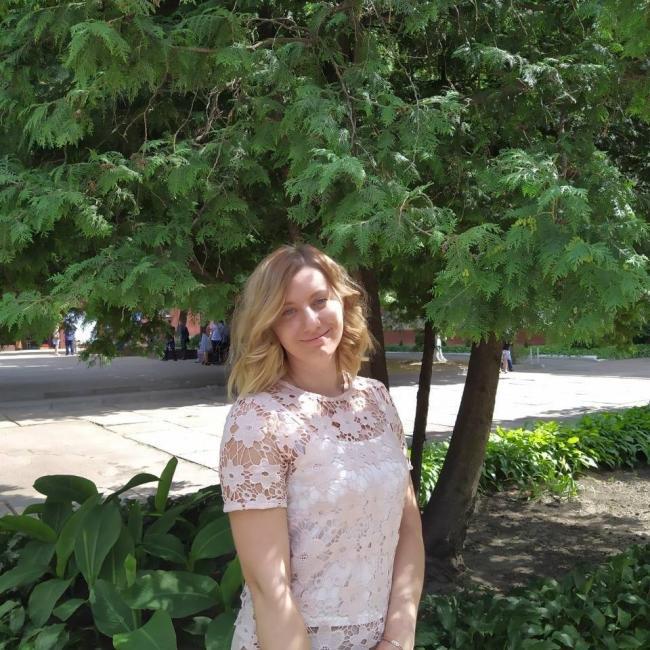 Viktoriya Kulikovskaya, 22, Kiev, Ukraine