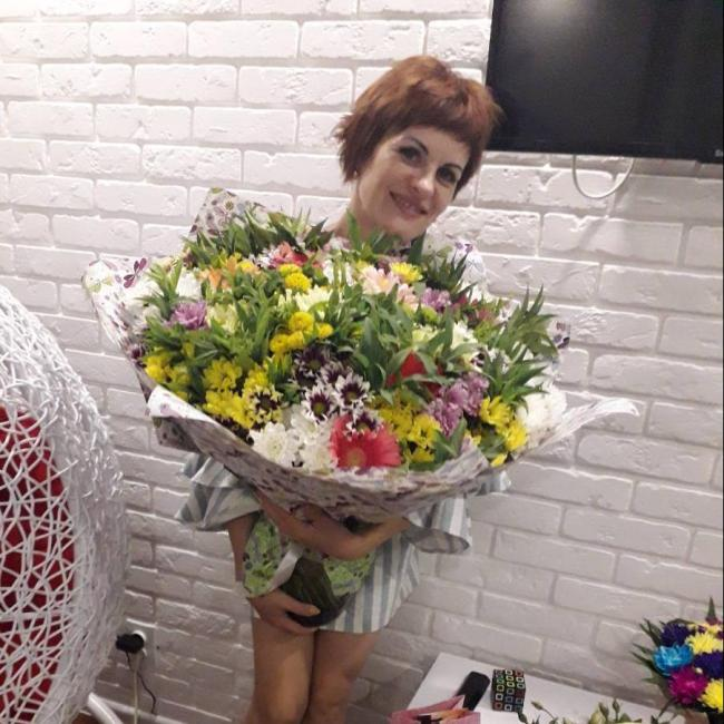 Ella Dichko, 45, Kharkiv, Ukraine