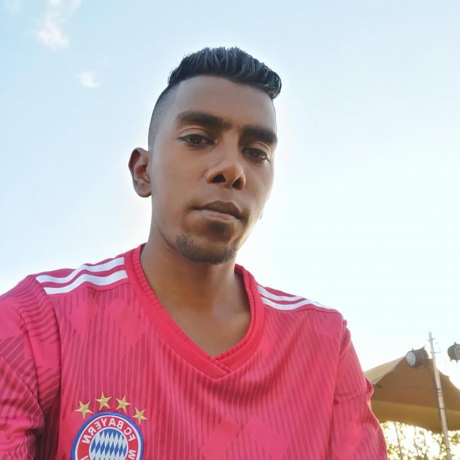 Marvin Teeluckdary, 24, Port Louis, Mauritius