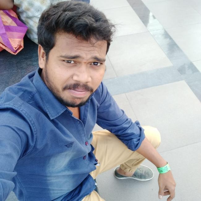 Trinath Kumar Nani, 28, Nellore, India