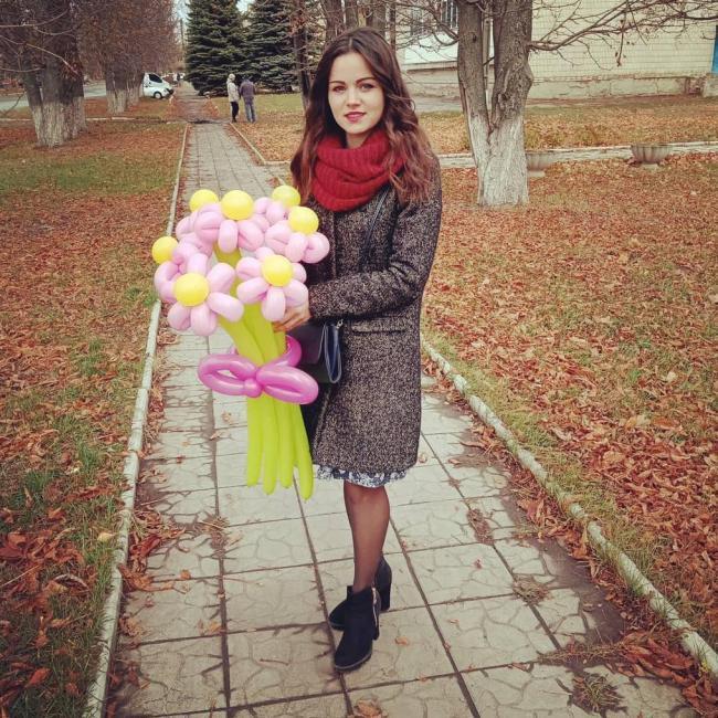 Darina Timoshenko, 22, Kharkiv, Ukraine