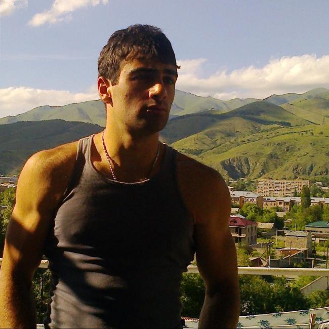Gevorg Danielyan, 22, Vanadzor, Armenia
