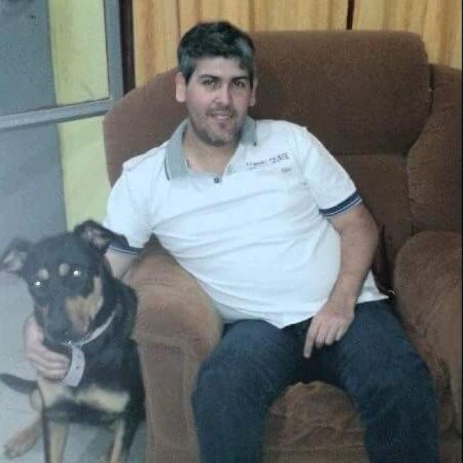Pedro Ismael Garcia, 41, Trelew, Argentina